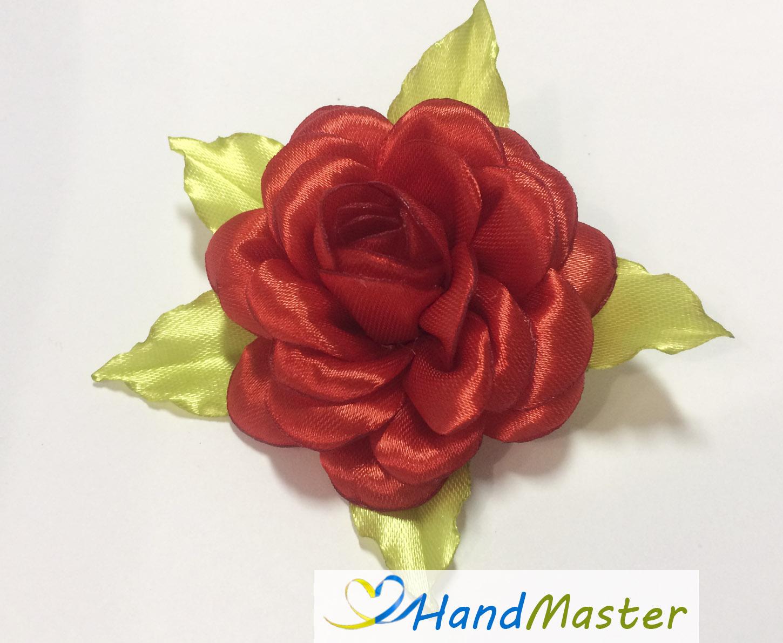 """Заколка для волос """"Красная Роза"""""""