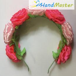 Венок «Розовые розы»